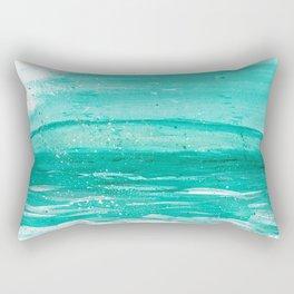 Bleu Wave Rising Rectangular Pillow