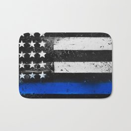Thin Blue Line - Back the Blue Bath Mat