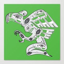 Cyber Punk American Canvas Print