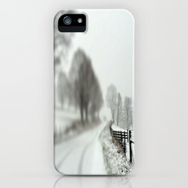cold fence iPhone Case