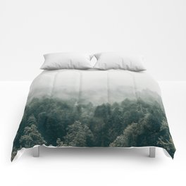 Foggy Forest 3 Comforters