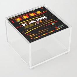 I AM BIOPC Acrylic Box