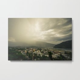 Storm over Nelson Metal Print