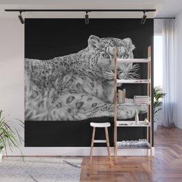 Snow Leopard Wall Mural