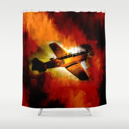 Fire Fly Shower Curtain