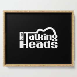 The Talking Heads Serving Tray