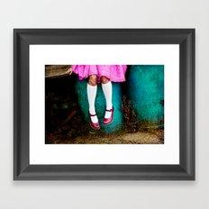 I am so girly Framed Art Print