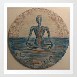 Peace attempts Art Print