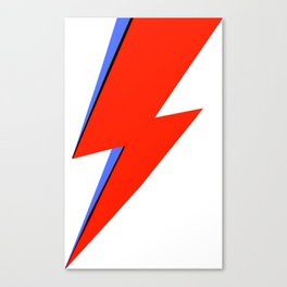 Bowie Ziggy Canvas Print