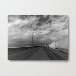 ON THE ROAD, ITALY Metal Print