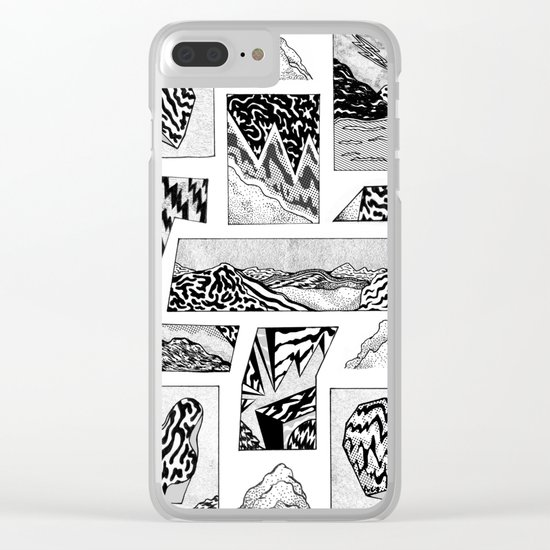 beyond time Clear iPhone Case