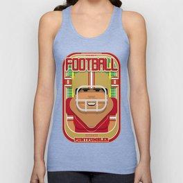 American Football Red and Gold - Enzone Puntfumbler - Seba version Unisex Tank Top