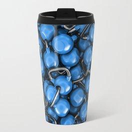 Kettlebells BLUE Travel Mug