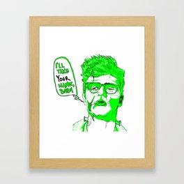 Uncle Frank Framed Art Print