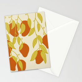 Red Mangoes 2 Stationery Cards