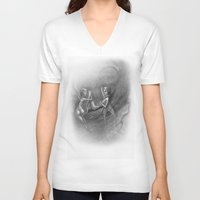 fairies V-neck T-shirts featuring fairies by george houridis