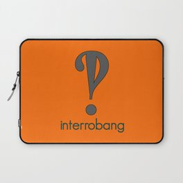 Interrobang, Serif Laptop Sleeve