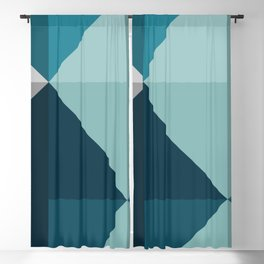 Geometric 1701 Blackout Curtain
