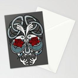 Celtic Skull Stationery Cards