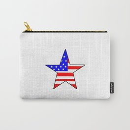 Star and flag of Usa - america,us,united states,american,spangled,star and strips Carry-All Pouch