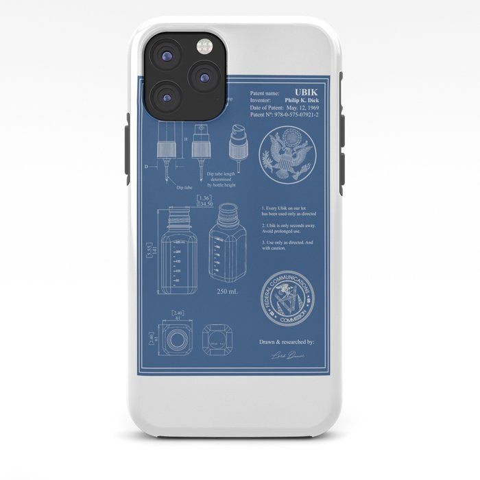 Ubik Blueprint Iphone Case By Daniramos Society6