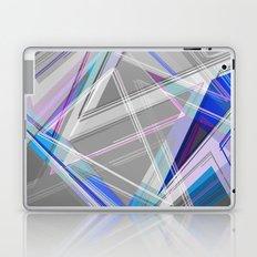 ∆Blue Laptop & iPad Skin