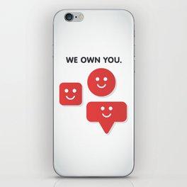 Phone Notifications iPhone Skin