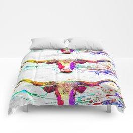 Longhorn Grunge Comforters