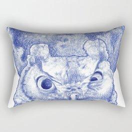 Midnight owl Rectangular Pillow