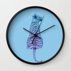Tiger + Stars Wall Clock