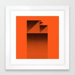 Zoom Z Framed Art Print