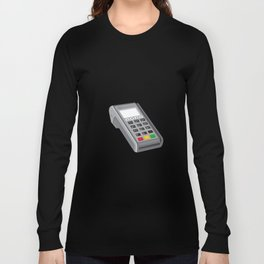 Point of Sale POS Terminal Retro Long Sleeve T-shirt