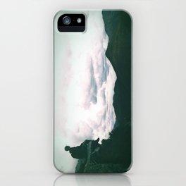 Cliff Hanger iPhone Case