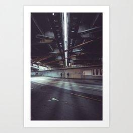 i am vertical Art Print