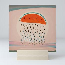 Sun Watermelon Rain Mutants Sequence 2 Mini Art Print