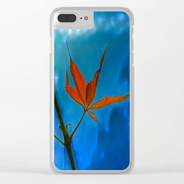 The sprouts of maiden grapes Clear iPhone Case