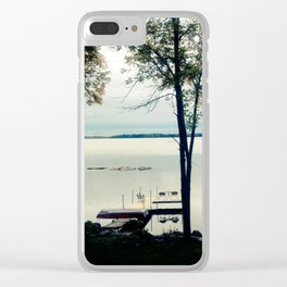 Cottage Life Clear iPhone Case
