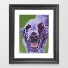 Sheila Girl Framed Art Print