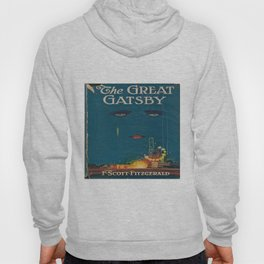 The Great Gatsby vintage book cover - Fitzgerald - muted tones Hoody