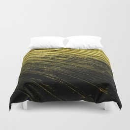 abstract fine art photography light water reflection pattern wood texture Duvet Cover