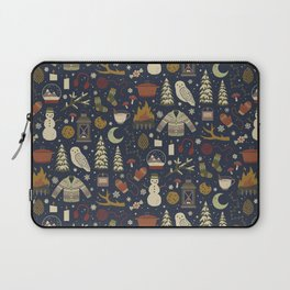Winter Nights Laptop Sleeve