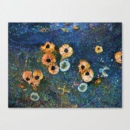 Abstract beautiful barnacles Canvas Print