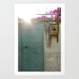 Doorways - Cunda Island Art Print