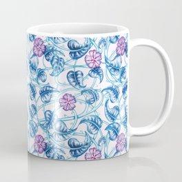 Ipomea Flower_ Morning Glory Floral Pattern Coffee Mug