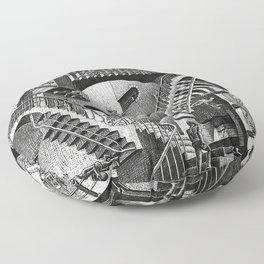 M.C. Escher - Relativity Floor Pillow