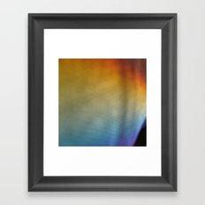rainbow on a sunday 1 Framed Art Print