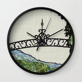 NICHOLS FIELD Wall Clock