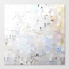 White, Photography Canvas Print