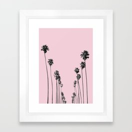 Palm trees 13 Framed Art Print