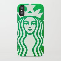starbucks iPhone & iPod Cases featuring STARBUCKS by Marco ☁ Gasperi